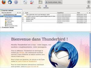 Thunderbird personnalisé